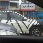 Nissan Terrano spied front door