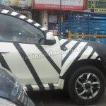 Nissan Terrano spied instrument cluster
