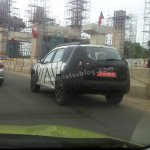 Nissan Terrano test mule spotted in Chennai
