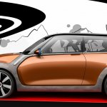 Profile of the MINI Vision design concept