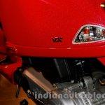 Rear indicator of the Vespa VX 125