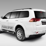 Rear of the Mitsubishi Pajero Sport Anniversary Edition