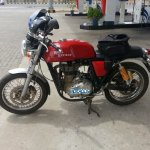 Royal Enfield Continental GT spied