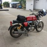 Royal Enfield Continental GT spotted