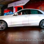 Side of the 2014 Mercedes E Class