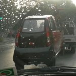 Single seater Tata Nano rear