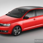 Skoda Rapid Spaceback front three quarter