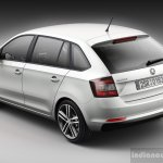 Skoda Rapid Spaceback rear three quarter