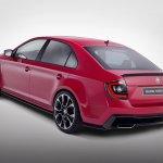 Skoda Rapid Sport Concept rear
