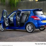 Suzuki Swift Sport 5-door doors open