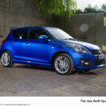 Suzuki Swift Sport 5-door front three quarter