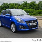Suzuki Swift Sport 5-door front