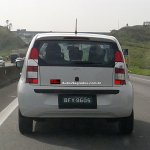 VW Up! Brazil steel tailgate