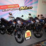 Variant lineup of the Honda Dream Neo