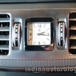 analog clock of the 2014 Mercedes E Class