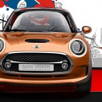 front of the MINI Vision design concept