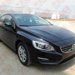 front three quarter of the Volvo S60L spotted in China
