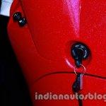 key of the Vespa VX 125