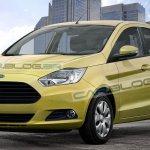 next gen Ford Figo rendered