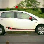 2013 Fiat Punto Sport side