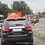 2013 Jeep Grand Cherokee spied India rear