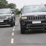 2013 and 2014 Jeep Grand Cherokee spied India