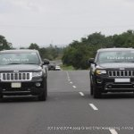 2013 and 2014 Jeep Grand Cherokee spied testing India