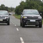 2013 and 2014 Jeep Grand Cherokee spied testing in India