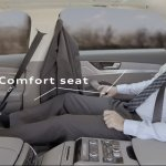 2014 Audi A8 L rear seat comfort