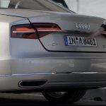 2014 Audi A8 L rear