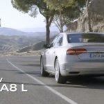 2014 Audi A8 L rolling