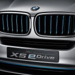 2014 BMW X5 Concept eDrive grille