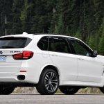 2014 BMW X5 M50d rear three quarter