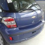 2014 Chevrolet Agile rear fascia