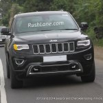 2014 Jeep Grand Cherokee spied India