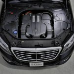 2014 Mercedes Benz S 500 Plug-in Hybrid engine