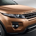 2014 Range Rover Evoque headlight