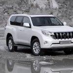 2014 Toyota Land Cruiser Prado front three quarters