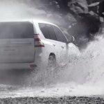 2014 Toyota Land Cruiser Prado in action