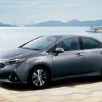 2014 Toyota Sai facelift front three quarter