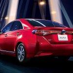 2014 Toyota Sai facelift rear