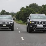2014 and 2013 Jeep Grand Cherokee spied India