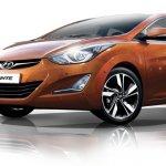 2014 hyundai elantra avante facelift front three quarter