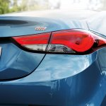 2014 Hyundai Avante facelift rear fascia
