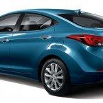2014 Hyundai Elantra rear three quarter