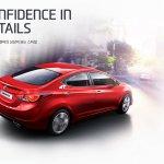 2014 Hyundai Elantra facelift red body color