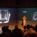 2015 Volvo XC90 teased center console
