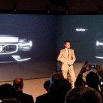 2015 Volvo XC90 teased front