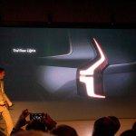 2015 Volvo XC90 teased taillights