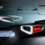 Audi Frankfurt Showcar design sketches